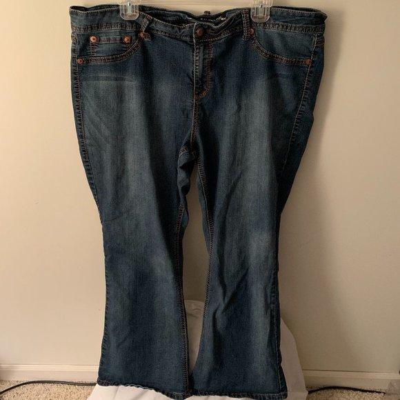 Torrid - Source of Wisdom Bootcut Jeans Sz 22